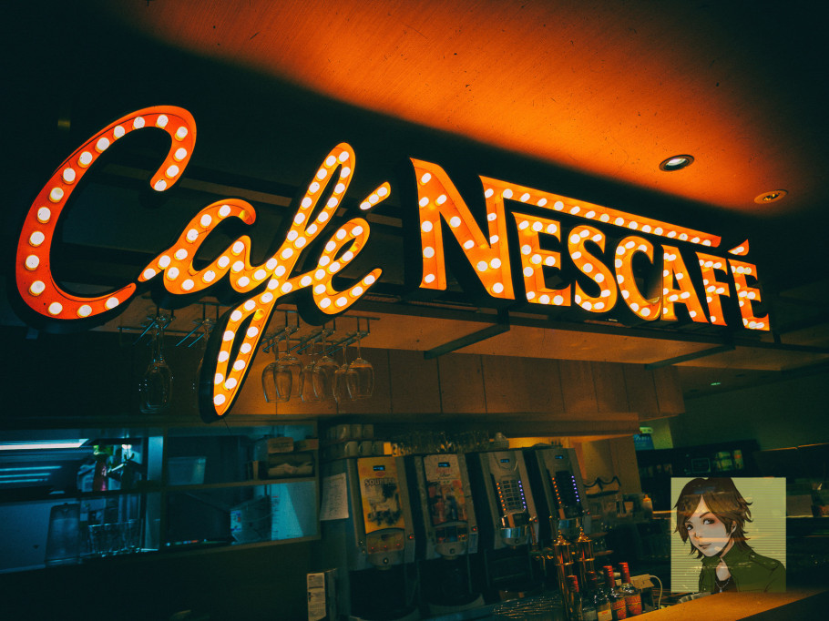 cafe NESCAFE原宿 [結婚式二次会の撮影事例]